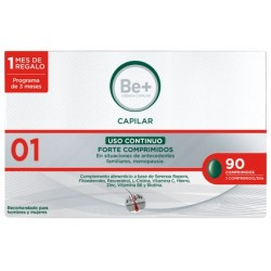 Be+ capilar uso continuo forte 90 comprimidos -