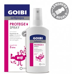 Goibi antipiojos protege spray -