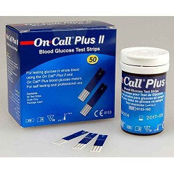 Tiras analisis glucosa on call plus II