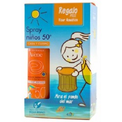 Avène spray niños cara y cuerpo 50+