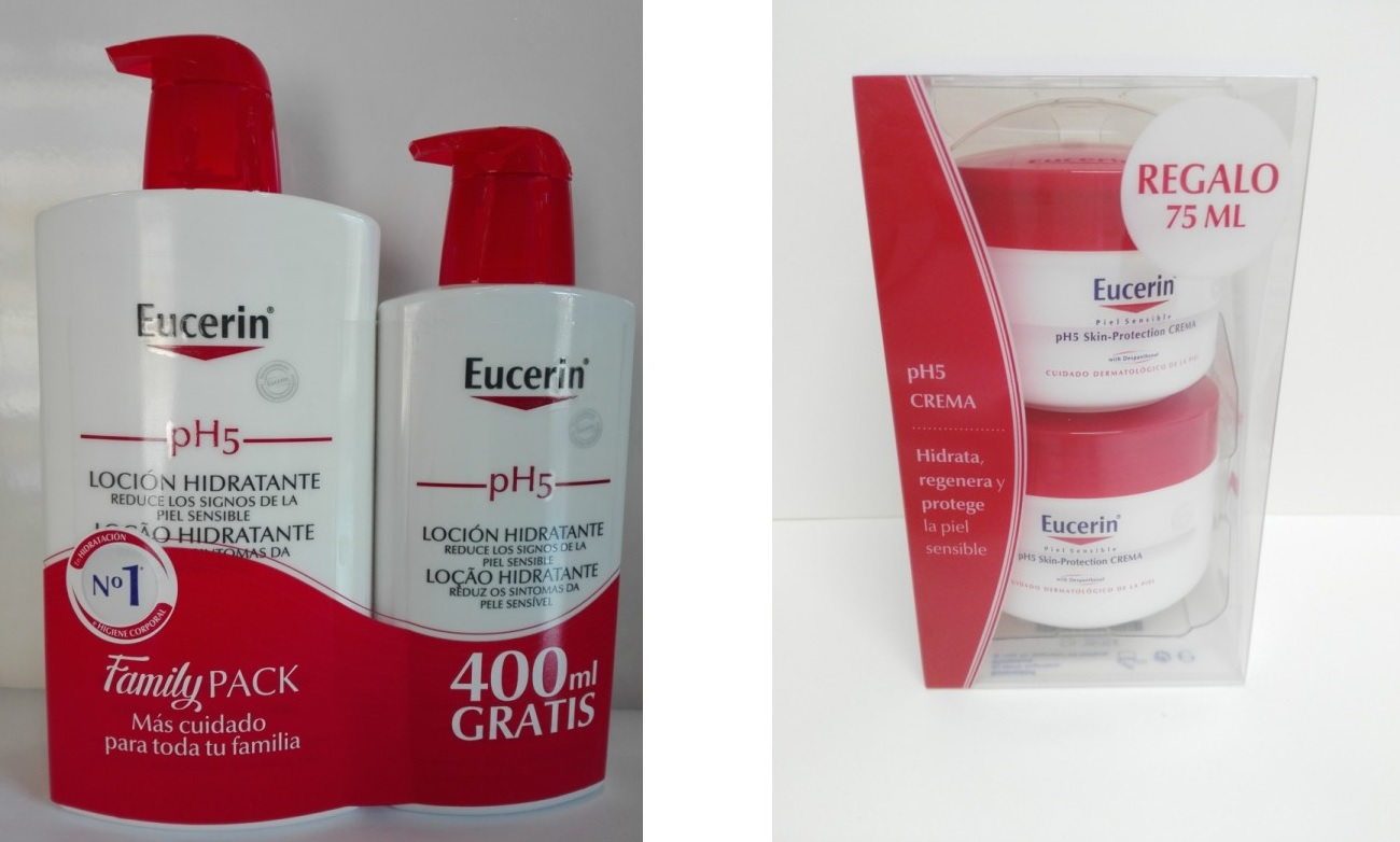 cremas hidratantes Eucerin